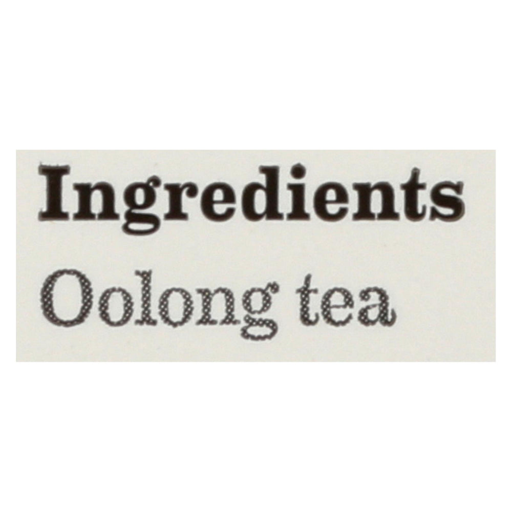 Bigelow Tea Tea - Oolong - Case Of 6 - 20 Bag