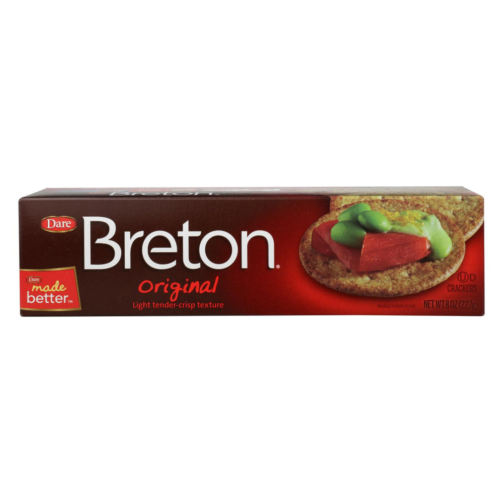 Breton-dare - Crackers - Original - Case Of 12 - 8 Oz.