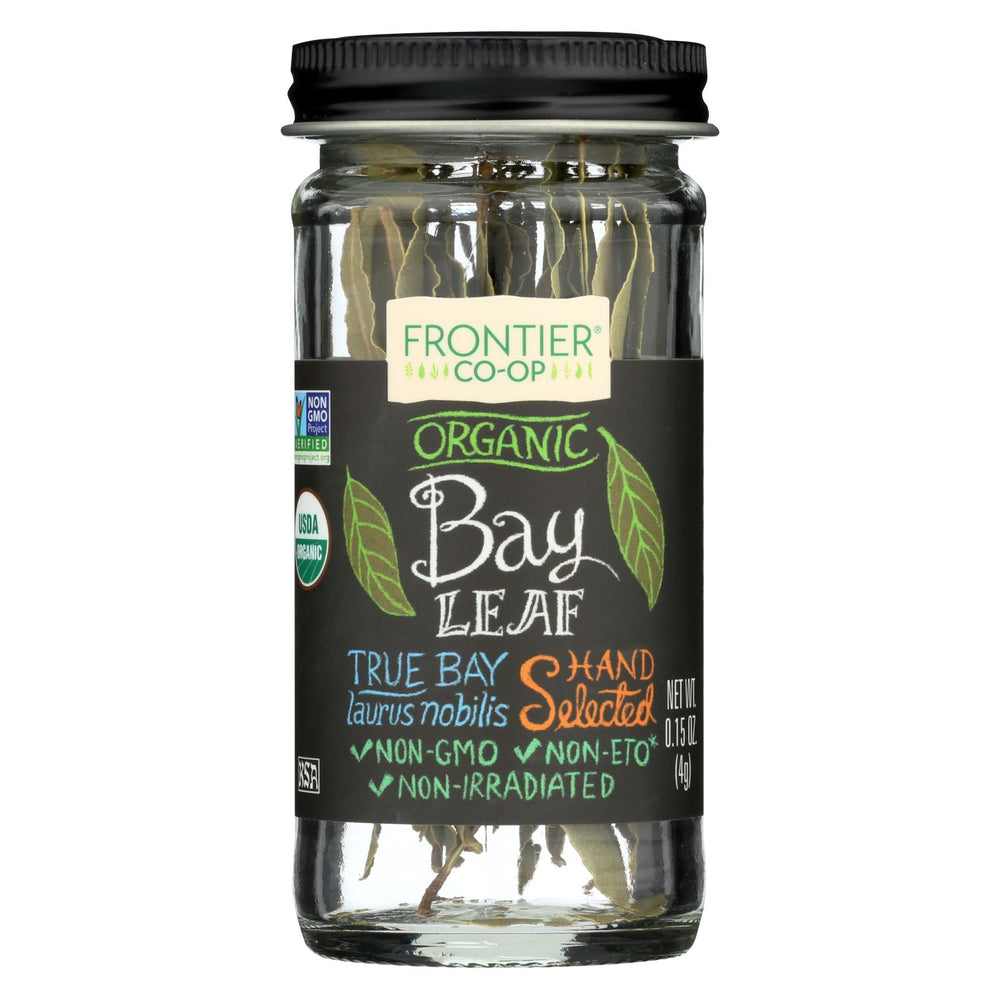 Frontier Herb Bay Leaf - Organic - Whole - .15 Oz