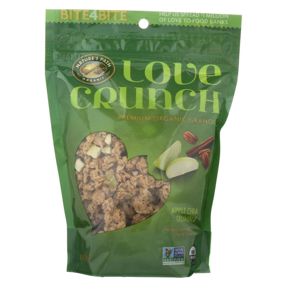 Nature's Path Organic Love Crunch Granola - Apple Crumble - Case Of 6 - 11.5 Oz.