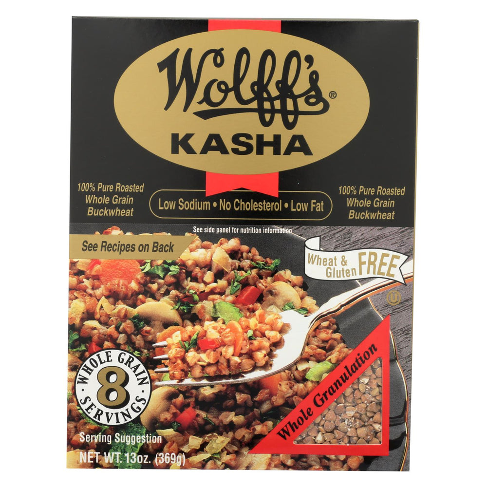 Wolff's Kasha Whole - Case Of 6 - 13 Oz.