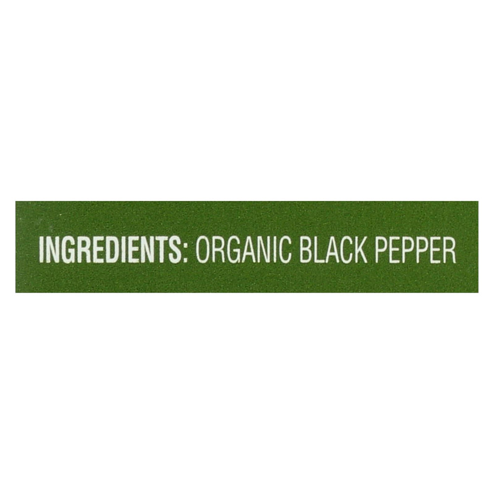 Simply Organic Ground Black Pepper - Case Of 6 - 4 Oz.