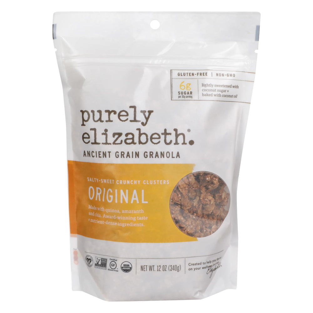 Purely Elizabeth Organic Ancient Grain Granola - Original - Case Of 6 - 12 Oz.