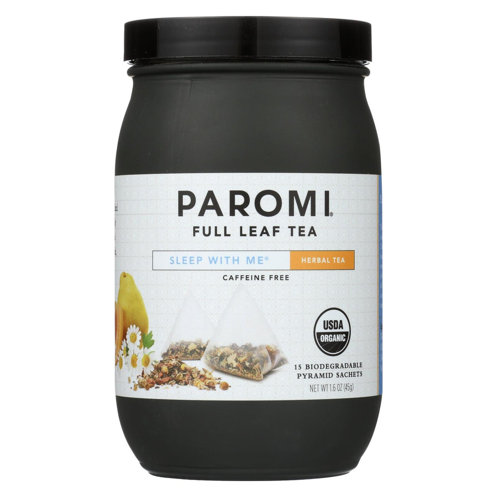 Paromi Tea - Sleep With Me Caffiene Free - Case Of 6 - 15 Bag