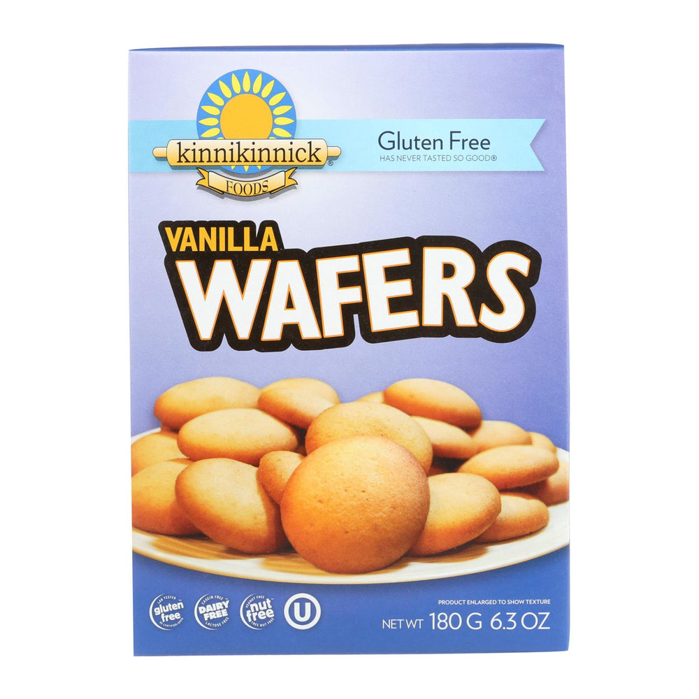 Kinnikinnick Vanilla Wafer - Case Of 6 - 6.3 Oz.