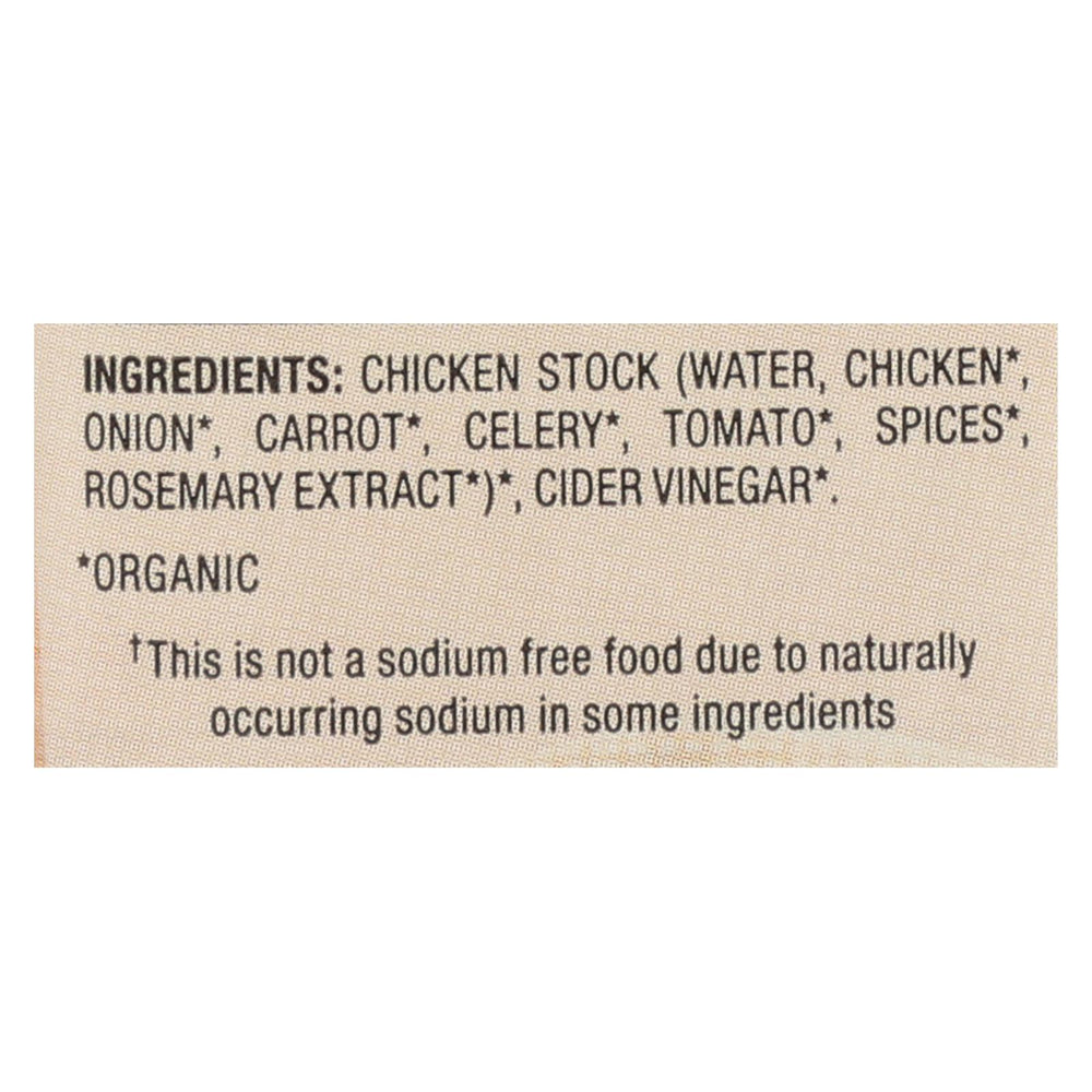 Pacific Natural Foods Bone Broth - Chicken - Case Of 12 - 8 Fl Oz.