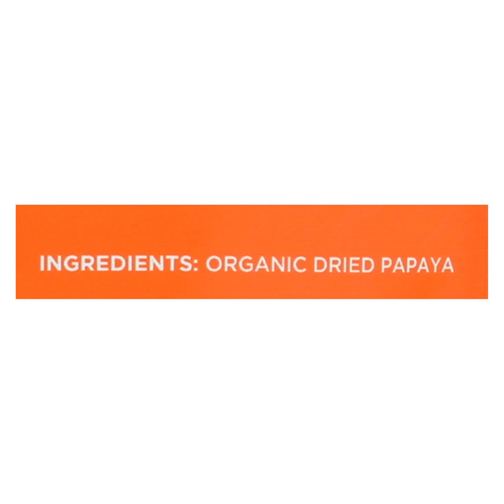 Mavuno Harvest Organic Dried Fruits - Papaya - Case Of 6 - 2 Oz.
