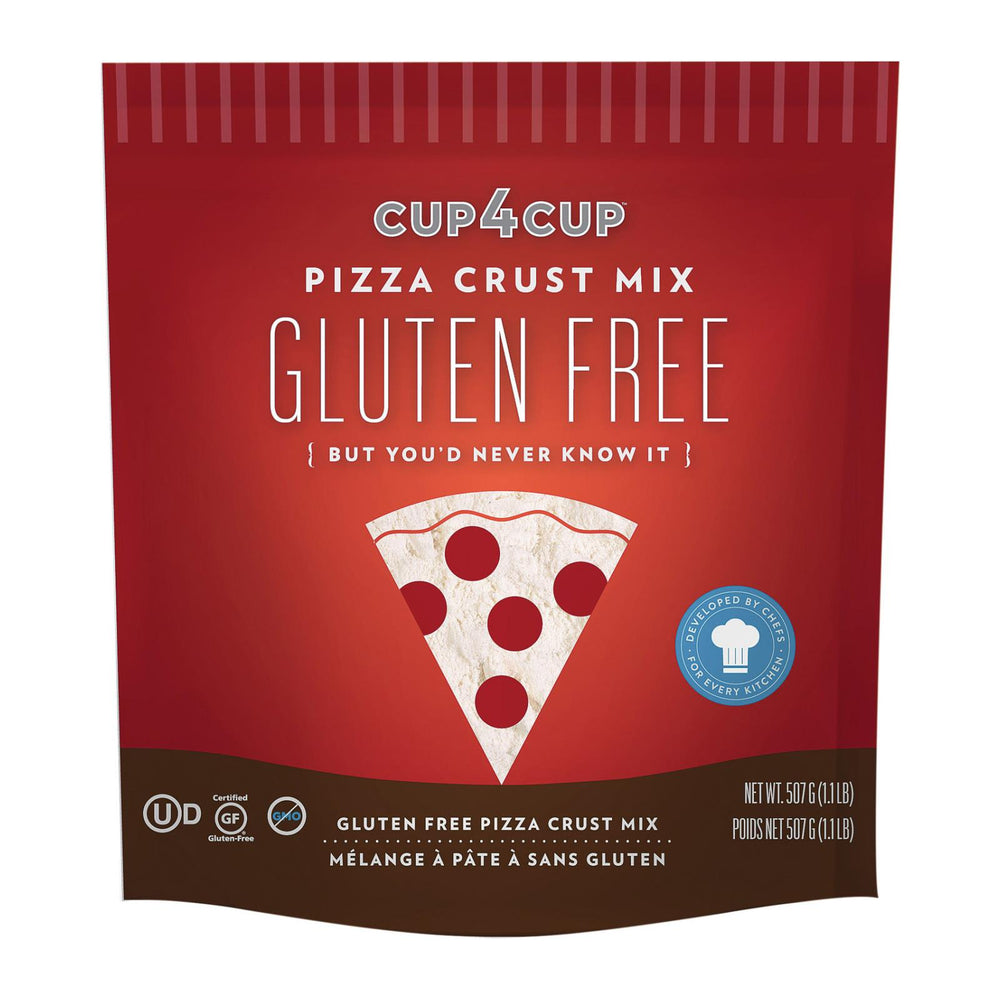 Cup 4 Cup - Pizza Crust Mix - Case Of 6 - 18 Oz.