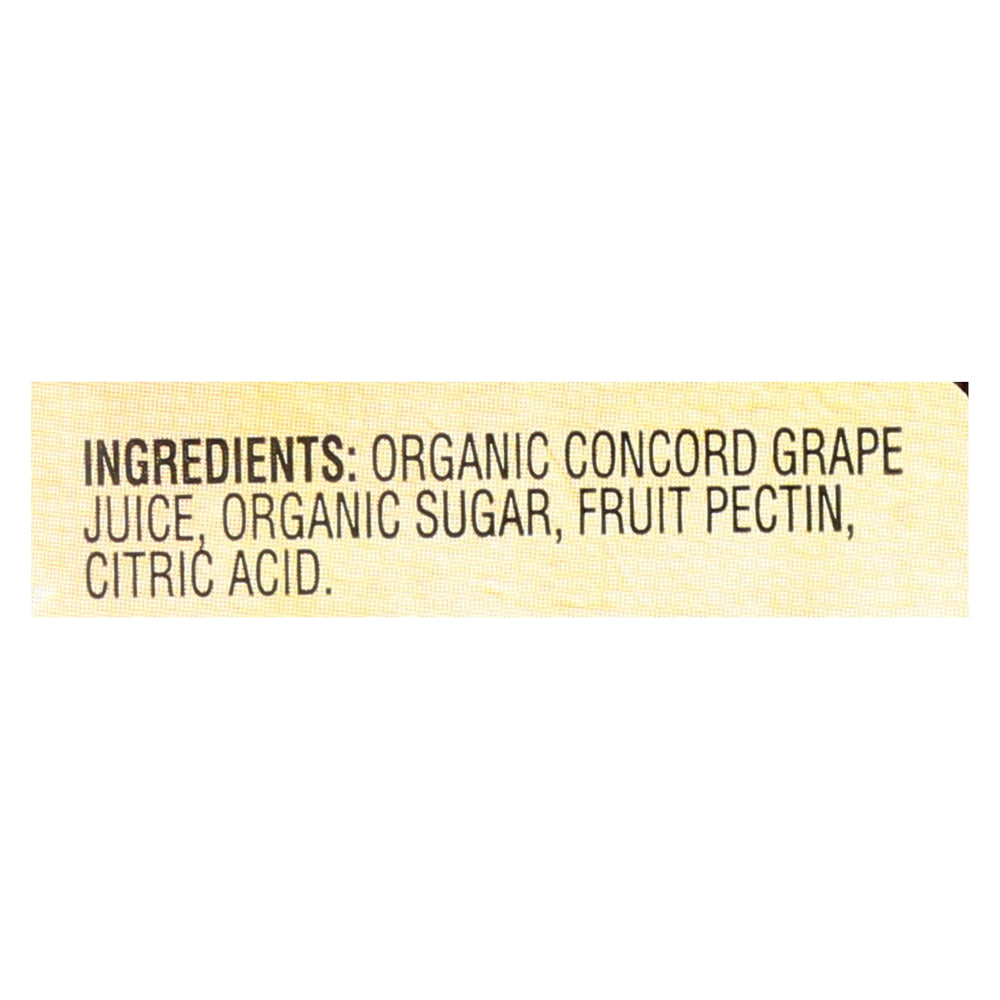 Santa Cruz Organic Fruit Spread - Concord Grape - Case Of 6 - 9.5 Oz.