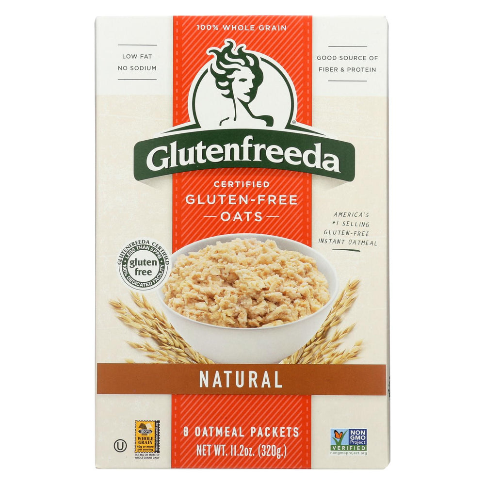 Gluten Freeda Natural Oatmeal - Case Of 8 - 11.2 Oz.
