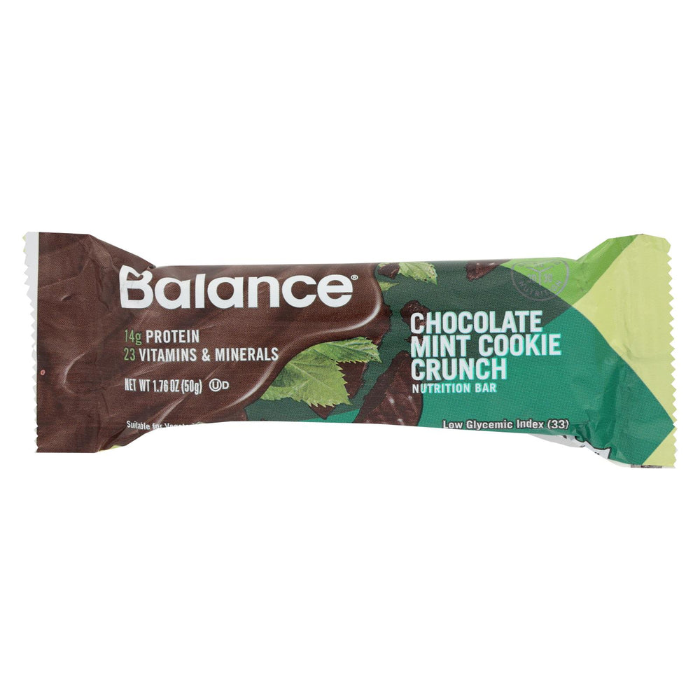 Balance Bar - Chocolate Mint Cookie Crunch - 1.76 Oz - Case Of 6