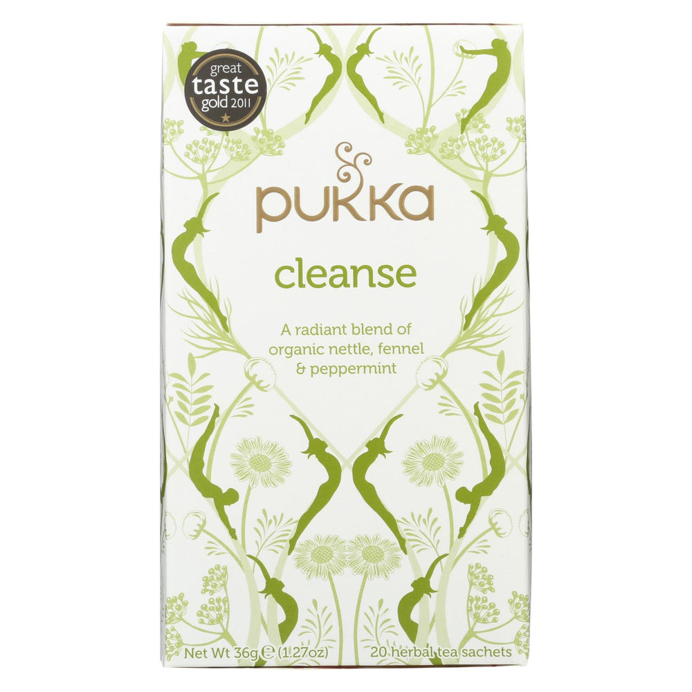 Pukka Herbal Teas Tea - Organic - Herbal - Cleanse - 20 Bags - Case Of 6