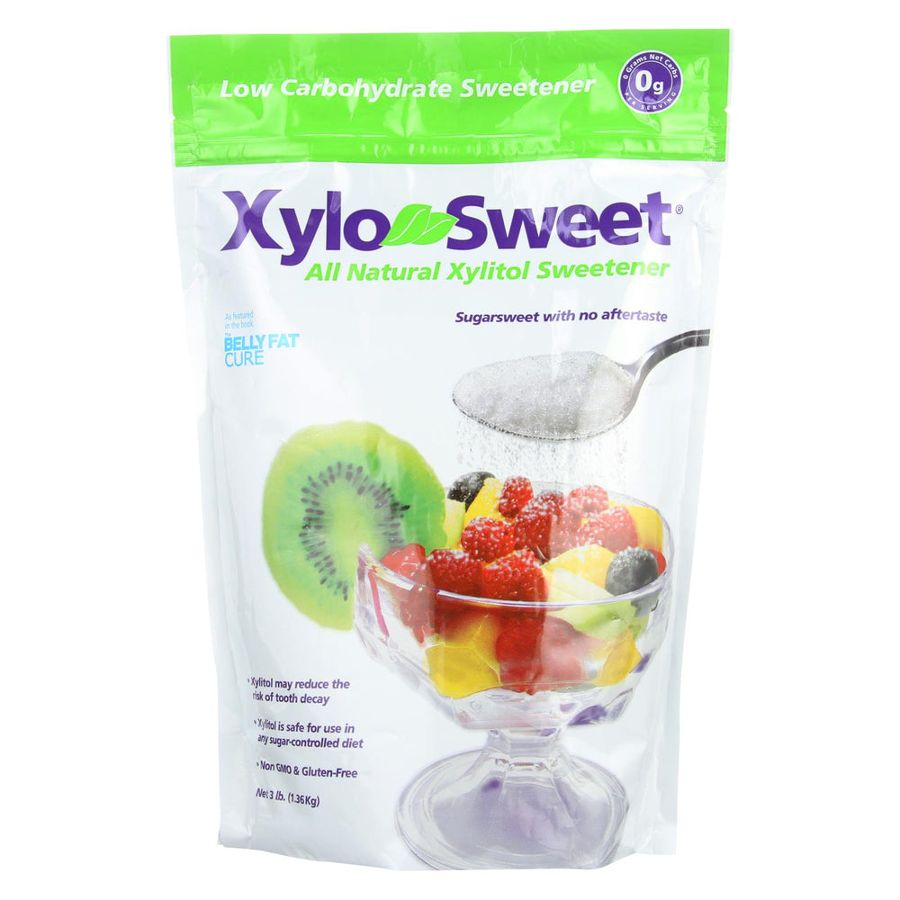 Xylosweet All Natural Low Carb Xylitol Sweetener - 3 Lb.