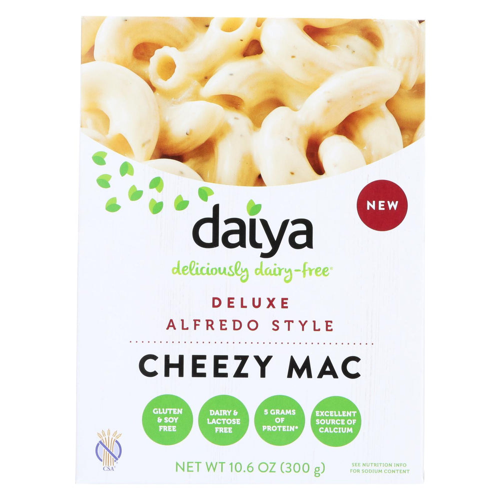 Daiya Foods - Cheezy Mac Deluxe - Alfredo Style - 10.6 Oz. - Case Of 8