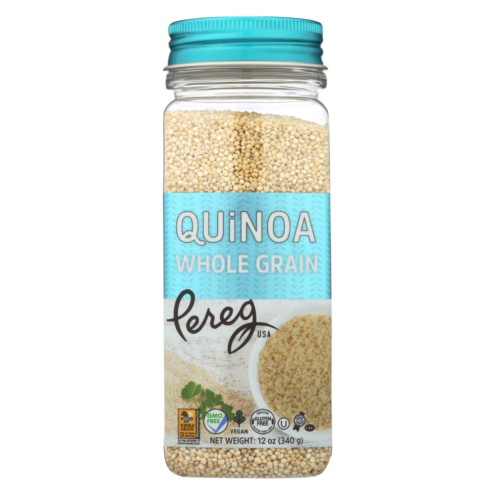 Pereg Quinoa - Plain - Case Of 6 - 12 Oz.