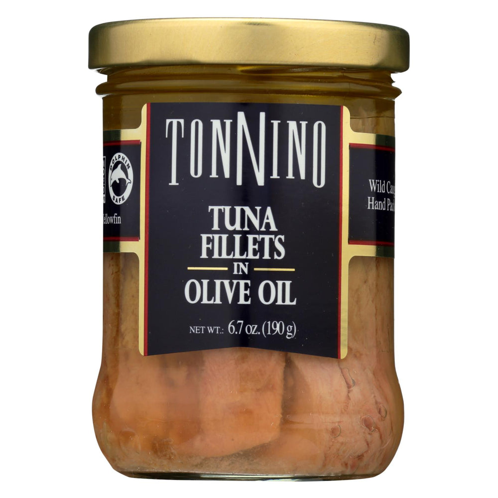 Tonnino Tuna Fillets - Olive Oil - Case Of 6 - 6.7 Oz.