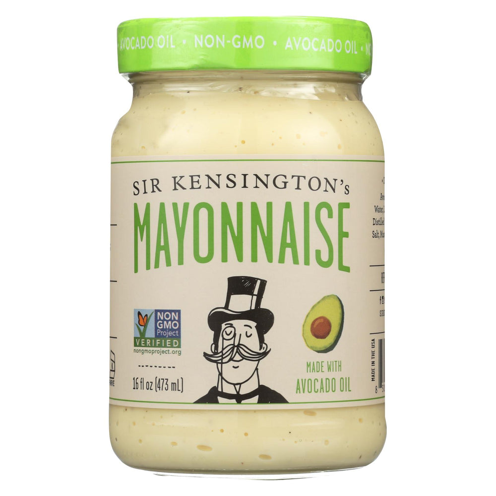 Sir Kensington's Avocado Oil Mayonnaise - Case Of 6 - 16 Fl Oz.