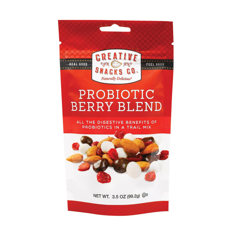 Creative Snacks - Snack - Probiotic Berry Blend - Case Of 6 - 3.5 Oz