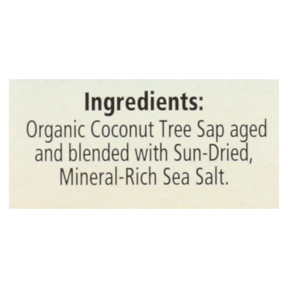 Coconut Secret - Organic Coconut Aminos 20pk - Case Of 12 - 5 Oz.