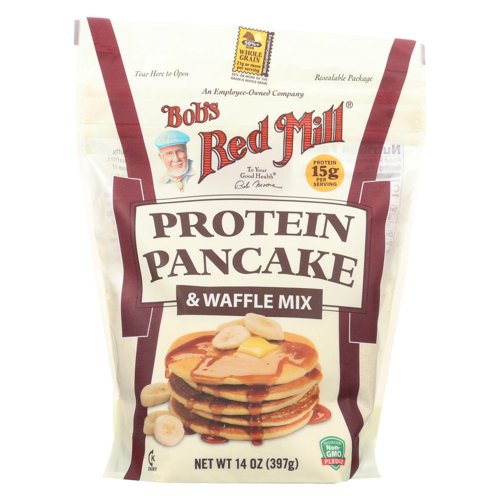 Bob's Red Mill - Mix - Pancake - Protein - Case Of 4 - 14 Oz