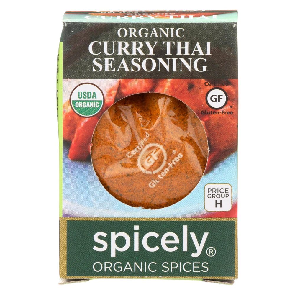 Spicely Organics - Organic Curry - Thai - Case Of 6 - 0.45 Oz.
