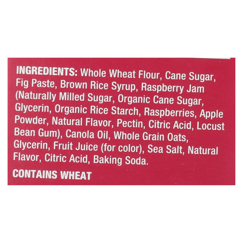 Nature's Bakery Stone Ground Whole Wheat Fig Bar - Raspberry - 2 Oz - Case Of 6