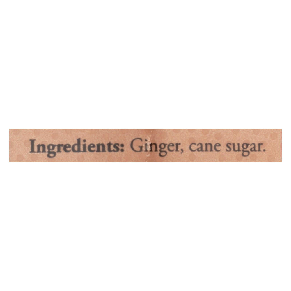 Ginger People - Crystallized Ginger - Case Of 12 - 3.5 Oz.