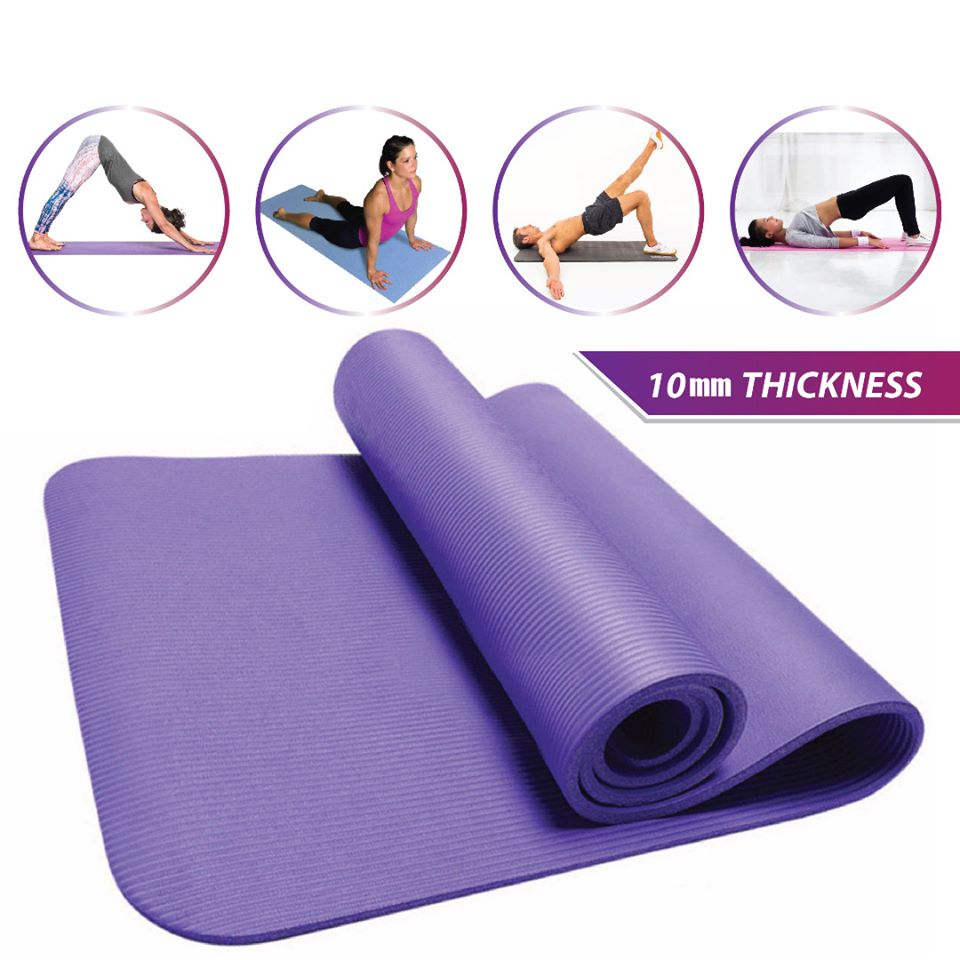 NBR YOGA MAT 10MM