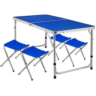 New Portable Foldable Aluminium Table Camping Outdoor Booth Picnic 120 x60cm
