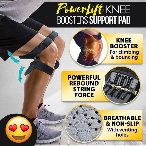 Powerlift Knee Boosters Support Pad