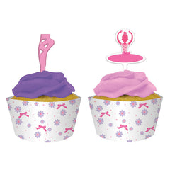Ballerina cupcake wrappers