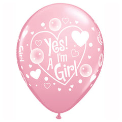 Yes I'm a girl balloner