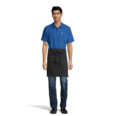 Half Waist Two-Section Pocket Apron