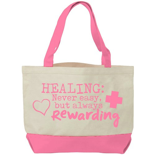 Canvas Healing Tote