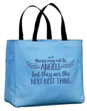 Nurse Angels Tote Bag