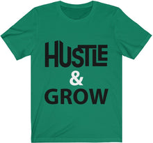 Load image into Gallery viewer, Hustle & Grow -  Unisex Premium Tee