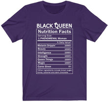 Load image into Gallery viewer, BLACK QUEEN NUTRITION FACTS
