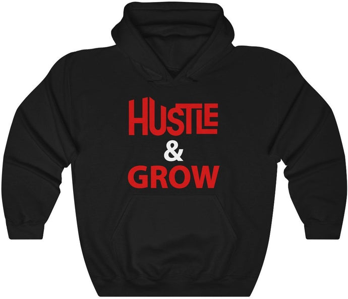Hustle & Grow Unisex Heavy Blend™ Hooded Sweatshirt