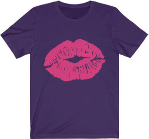 Kiss My LIPS - Unisex Jersey Short Sleeve Tee
