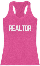 Load image into Gallery viewer, Realtor -mWomen's Racerback Tank