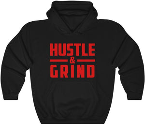 Hustle & Grind - Unisex Heavy Blend™ Hooded Sweatshirt