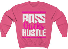 Load image into Gallery viewer, Boss Chicks Hustle - Unisex Heavy Blend™ Crewneck Sweatshirt