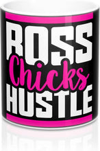 Load image into Gallery viewer, Boss Chicks Hustle Pink - Mug 11oz