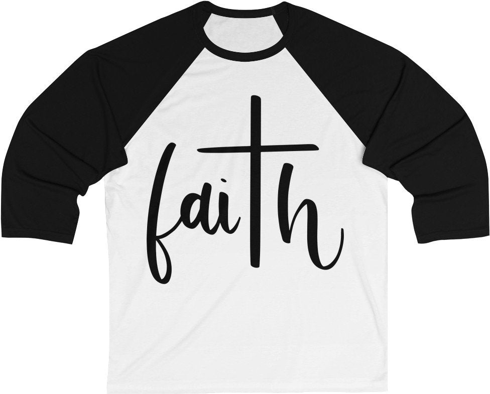 FAITH - Unisex 3/4 Sleeve Baseball Tee