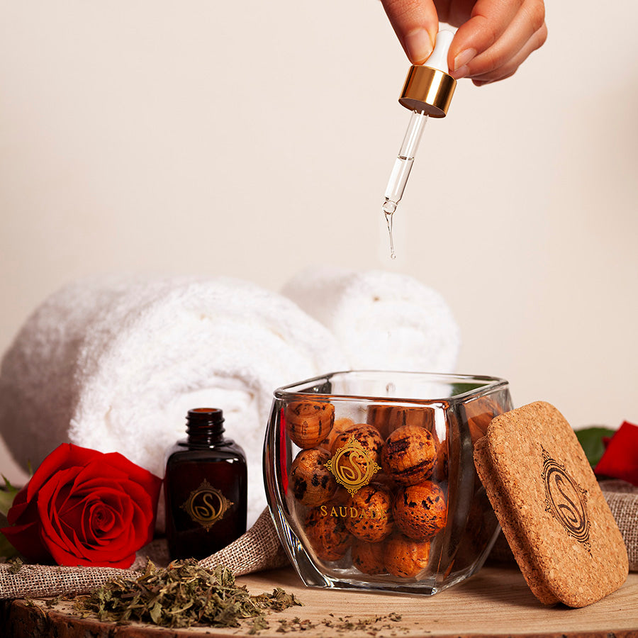 Cork diffuser refill - Green Tea and Roses