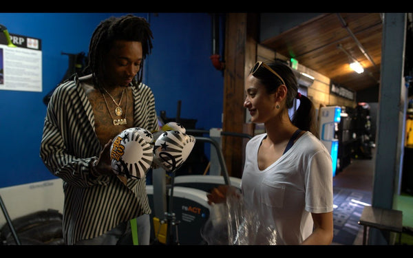 YOKKAO Creates One-Of-A-Kind Boxing Gloves for Wiz Khalifa