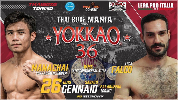 YOKKAO 36: Manachai Takes On Luca Falco for WMC Title