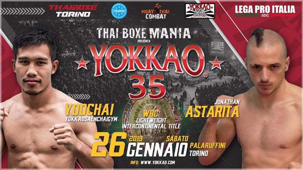 YOKKAO 35: Yodchai Gets WBC Title Shot Against Astarita!