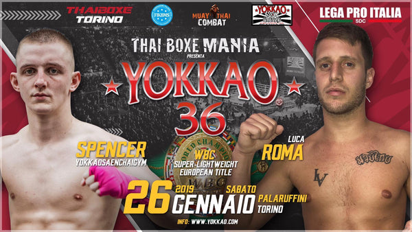 YOKKAO 36: Spencer Brown Fights for WBC European Title!