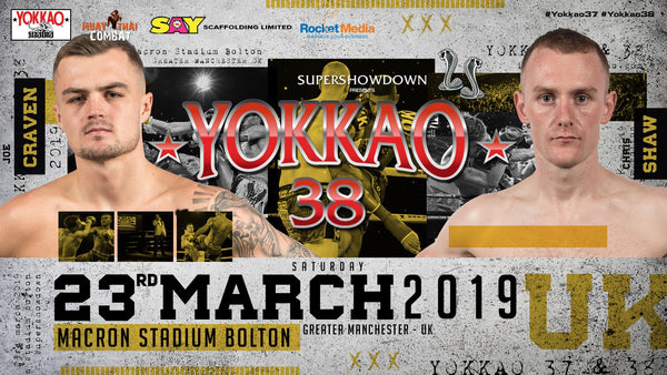 YOKKAO 38: Joe Craven vs Chris Shaw